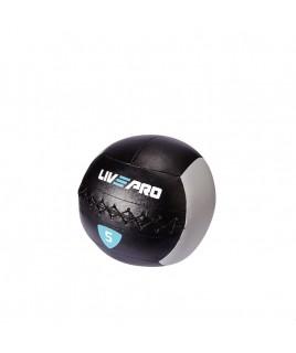 м'яч для кроcсфіта LivePro WALL BALL 5 кг чорний / сірий LP8100-5