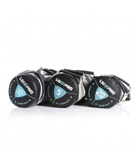 Мешок для кроссфита  LivePro  POWER BAG 10 кг черный/серый LP8120-10