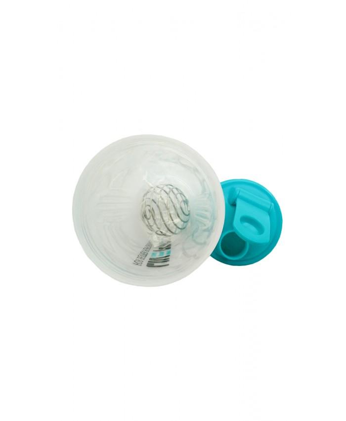 Шейкер спортивний LivePro SHAKE BOTTLE білий / синій LP8147