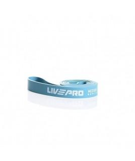 Эспандер для тренировок  LivePro  SUPER BAND Medium  голубой LP8410-M