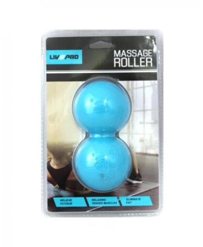 Мячик двойной для массажа  LivePro  THERAPY MASSAGE PEANUT BALL LP8502