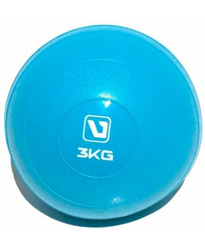 Медбол мягкий 3 кг SOFT WEIGHT BALL LS3003-3