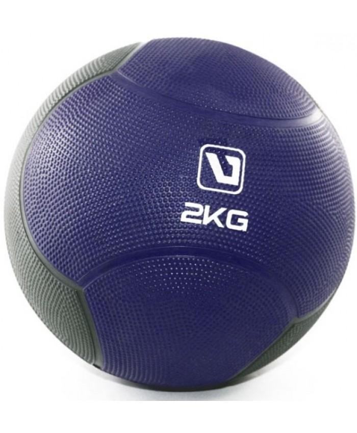 Медбол твердый 2 кг MEDICINE BALL  LS3006F-2