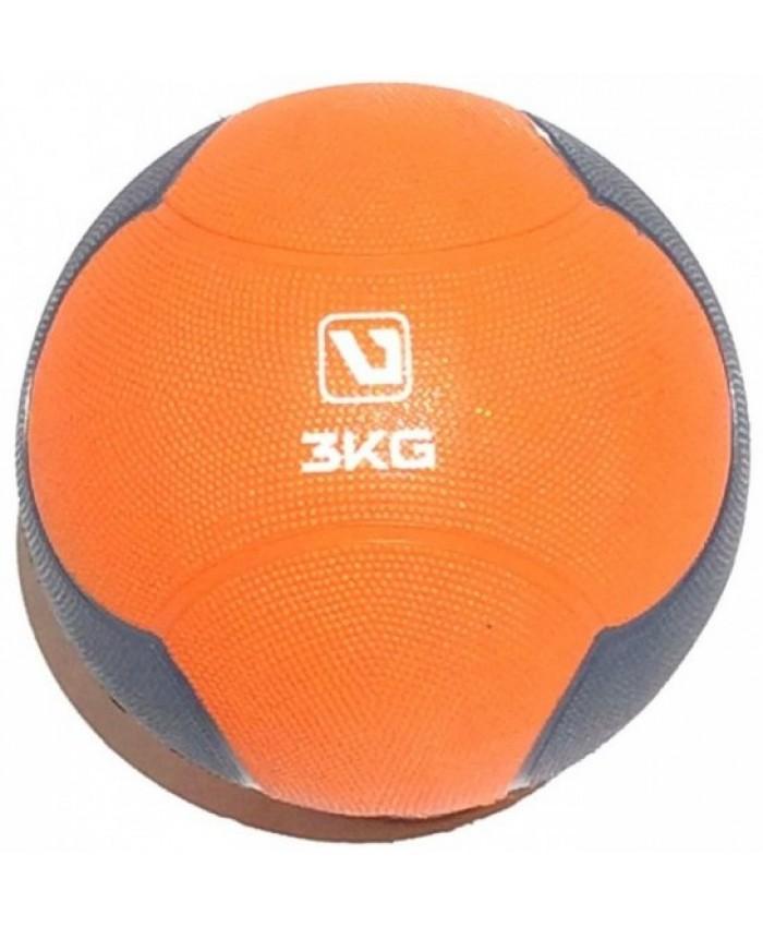 Медбол твердый 3 кг MEDICINE BALL  LS3006F-3