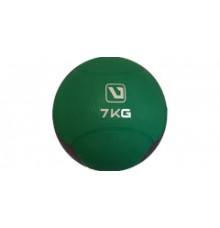 Медбол твердий 7 кг MEDICINE BALL LS3006F-7