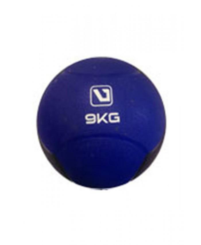 Медбол твердый 9 кг MEDICINE BALL LS3006F-9