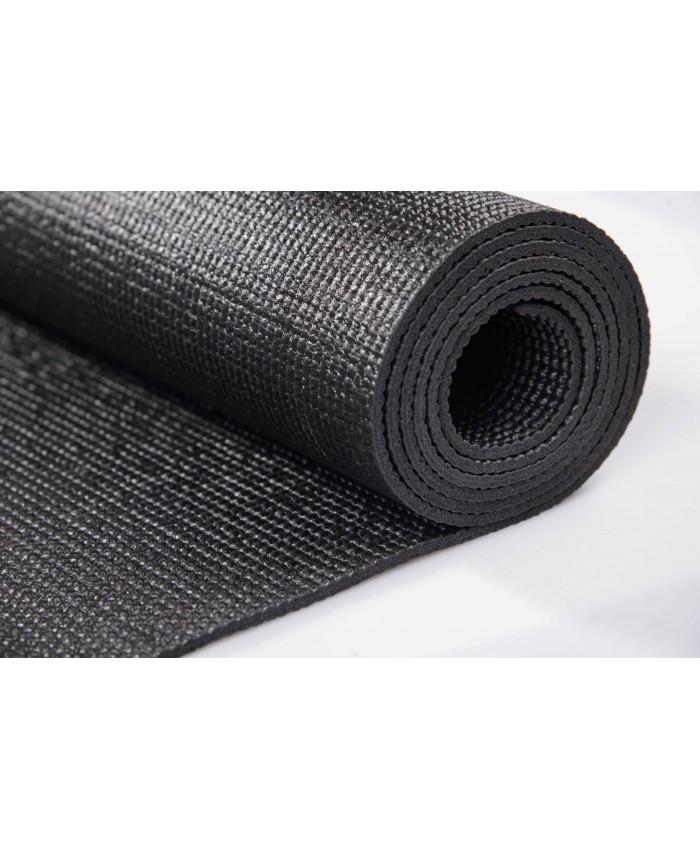 Килимок для йоги LiveUp YOGA MAT TOTAL BLACK