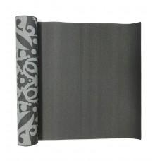 Йога-килимок LiveUP PVC PRINTED YOGA MAT сірий LS3231C-08g