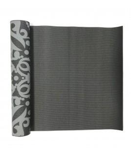 Йога-коврик  LiveUP  PVC PRINTED YOGA MAT  серый