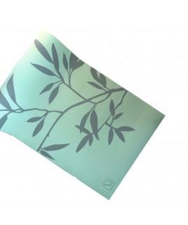 Йога-коврик  LiveUP  PVC PRINTED YOGA MAT зеленый LS3231C-08grn