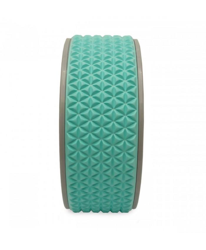 Колесо для йоги та фітнесу LiveUp YOGA RING LS3750-b