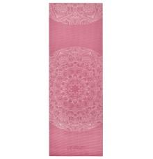 Килимок для йоги з принтом LiveUp PVC YOGA MAT