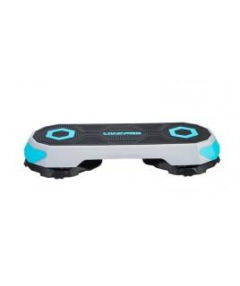 Степ платформа мини LivePro  STEP  черный/синий LP8244.S
