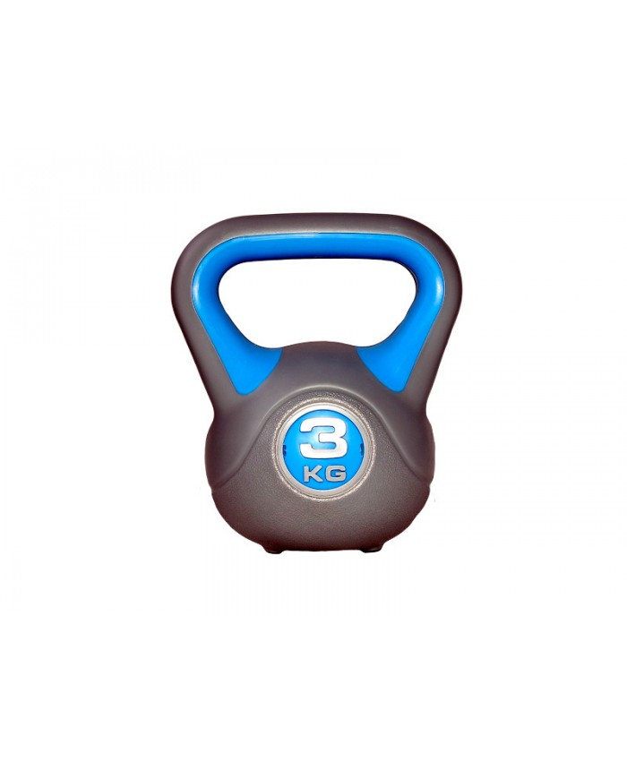 Гиря пластикова насипна 3 кг LS2047-3