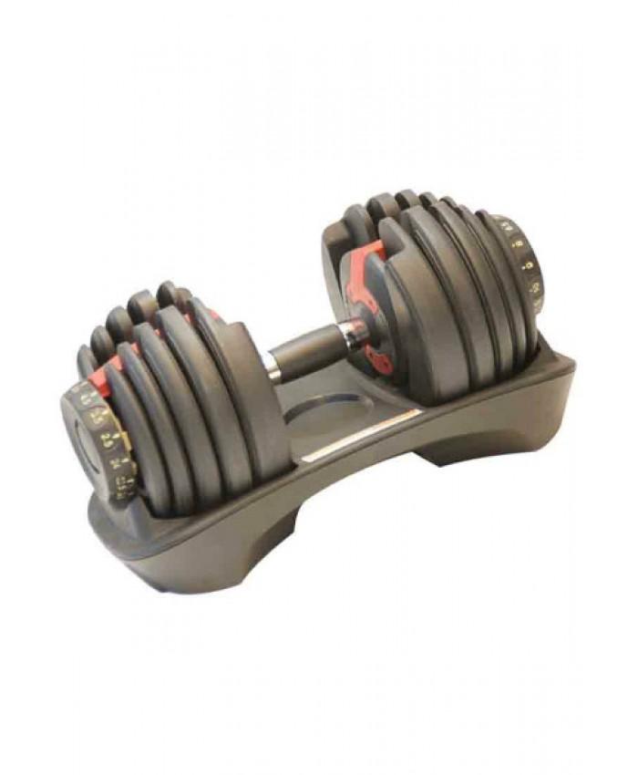 Гантель з регульованим вагою 2,3-24 кг LS2315-24