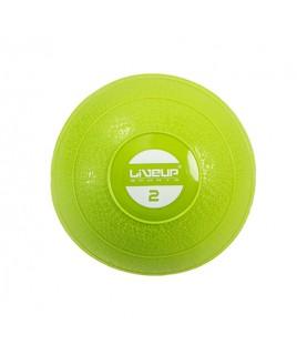Медбол мягкий 2 кг SOFT WEIGHT BALL LS3003-2