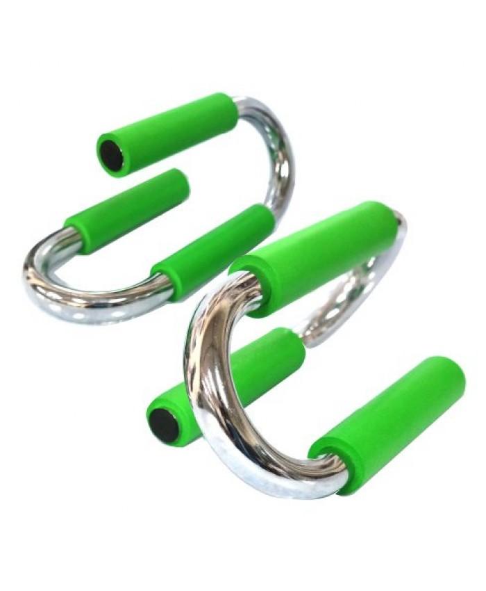 Упори для віджимання метал Набір 2 шт. PUSH UP BAR LS3164F