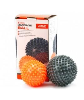 Набір масажних м'ячиків 2 шт LiveUp MASSAGE BALL
