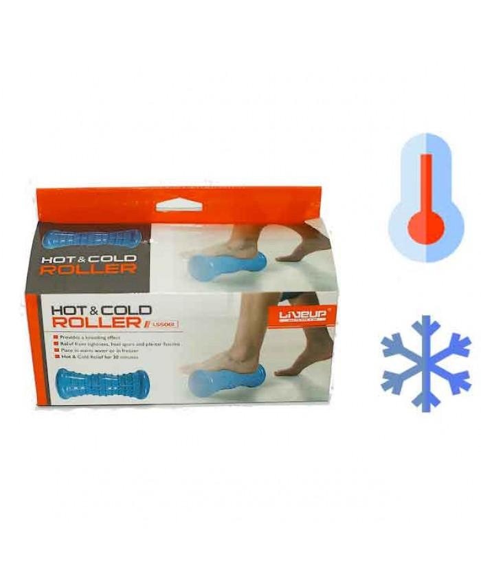 масажний ролик Liveup з технологією HOT & COLD LS5061-b