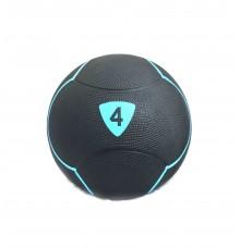 Медбол Livepro SOLID MEDICINE BALL чорний 4кг