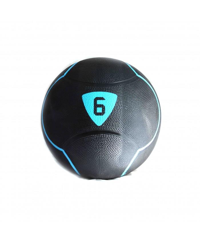 Медбол Livepro SOLID MEDICINE BALL чорний 6кг