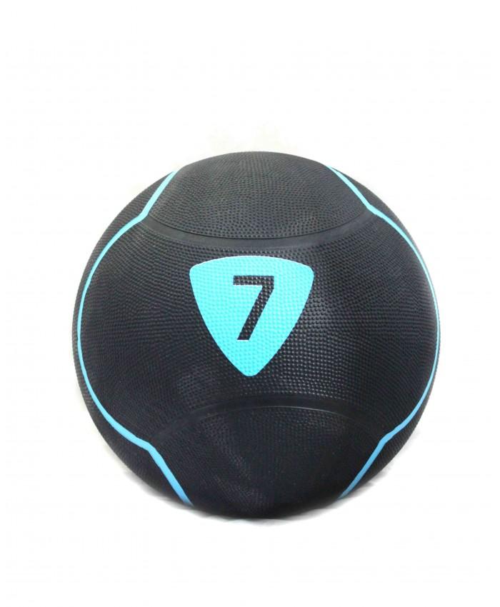 Медбол Livepro SOLID MEDICINE BALL чорний 7кг