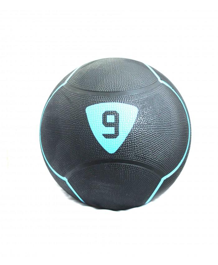 Медбол Livepro SOLID MEDICINE BALL чорний 9кг