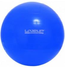 Фітбол LiveUP  GYM BALL голубой 75см