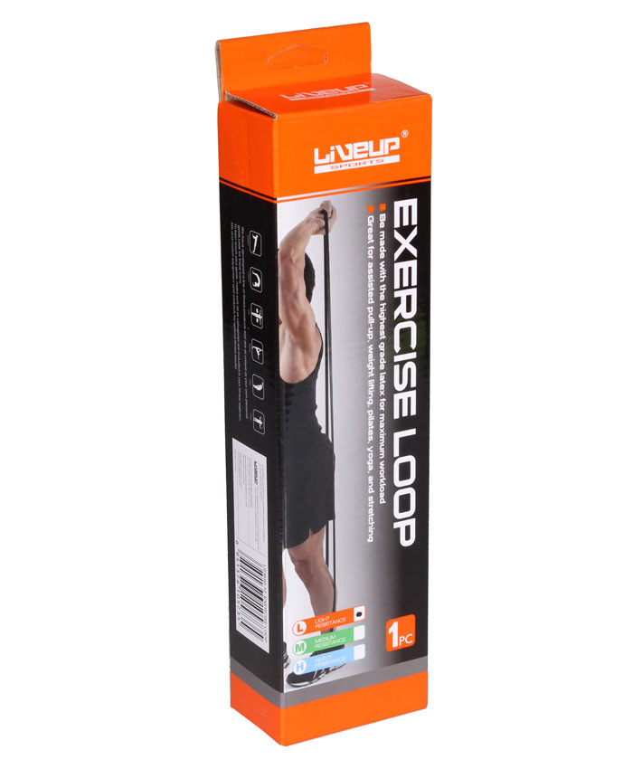 Гума для подтягивания 208 см сильне LATEX LOOP LS3650-2080Hb
